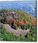Fall On The Mountain Acrylic Print by Stephen Melcher