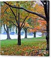 fall on the Potomac River Acrylic Print