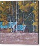 Fall On The Ranch Acrylic Print