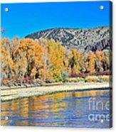 Fall On The Snake River Acrylic Print