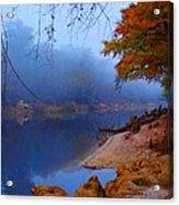 Fall On The Suwannee River Acrylic Print