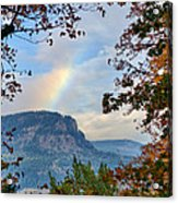 Fall Rainbow Acrylic Print