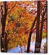 Fall River Nova Scotia Acrylic Print