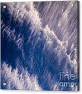 Fall Streak Clouds 5 Acrylic Print