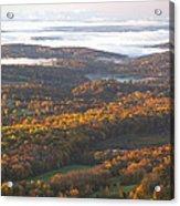 Fall Sunrise Over New Jersey Acrylic Print