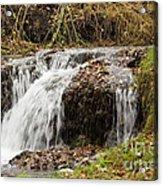 Fall Time Waterfalls Acrylic Print