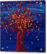 Fall Tree Fantasy By Jrr Acrylic Print