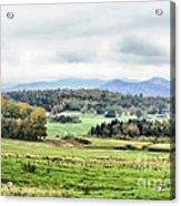 Fall Vermont Landscape Acrylic Print