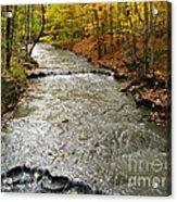 Fall Waters Acrylic Print