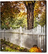 Fall Welcome Acrylic Print