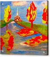 Fall Worship Acrylic Print
