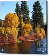 Fall Leavenworth Washington Acrylic Print