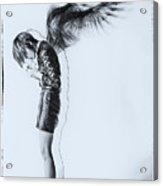 Fallen Angel Acrylic Print