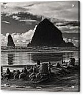 Fallen Sand Castles Acrylic Print