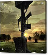 Fallen Soldiers Memorial Acrylic Print