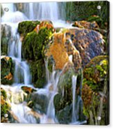 Fallin' Water Acrylic Print