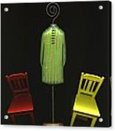 Falling Chairs Acrylic Print