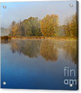 Falling For Reflections... Acrylic Print