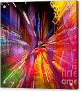 Falling Into Glass Acrylic Print