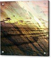 Falling Sky Siesta Key Acrylic Print