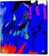 Falling Through Lightness  Acrylic Print