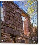 Falling Wall Jerome Acrylic Print