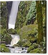 Falling Water Cuts Into Mount Tamalpais Acrylic Print
