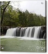 Falling Water Falls Acrylic Print