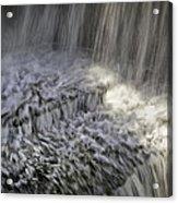 Falling Water Acrylic Print
