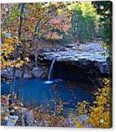 Falling Water Waterfall Acrylic Print