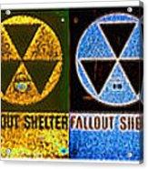 Fallout Lineup Acrylic Print