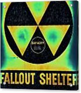 Fallout Shelter Abstract 2 Acrylic Print