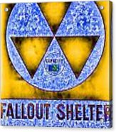 Fallout Shelter Abstract 4 Acrylic Print