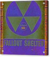 Fallout Shelter Abstract Acrylic Print