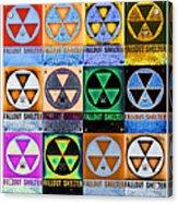 Fallout Shelter Mosaic Acrylic Print