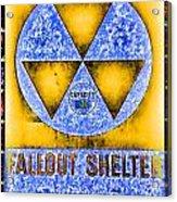 Fallout Shelter Wall 3 Acrylic Print