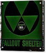 Fallout Shelter Wall 4 Acrylic Print