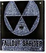 Fallout Shelter Wall 5 Acrylic Print