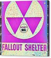 Fallout Shelter Wall 6 Acrylic Print