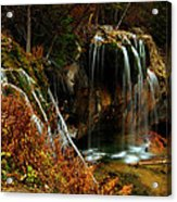 Falls At Hanging Lake Acrylic Print