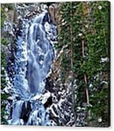 Falls Freezing Acrylic Print