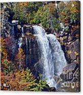 Falls In Fall Acrylic Print