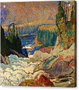 Falls - Montreal River Acrylic Print
