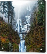 Falls Of Heaven Acrylic Print