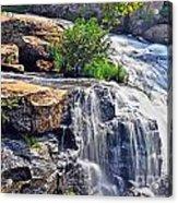 Falls Of Reedy River Acrylic Print