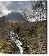 Falls On The River Coupall Acrylic Print