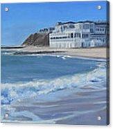 Falmouth Heights Beach Cape Cod Acrylic Print
