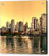 False Creek Triptych Centre Panel Acrylic Print