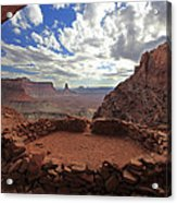 False Kiva Acrylic Print