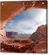 False Kiva In Canyonlands National Acrylic Print